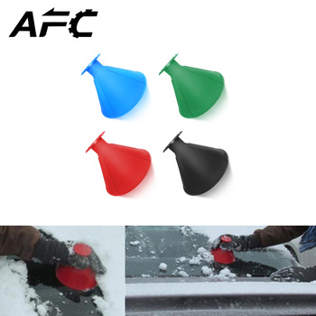 Ice Scraper Magic Outdoor Ice Shovel Cone Shaped Funnel Snow Remover Tool Useful Car Windshield Snow Removal Scraper Car Tool 360 ijskrabber