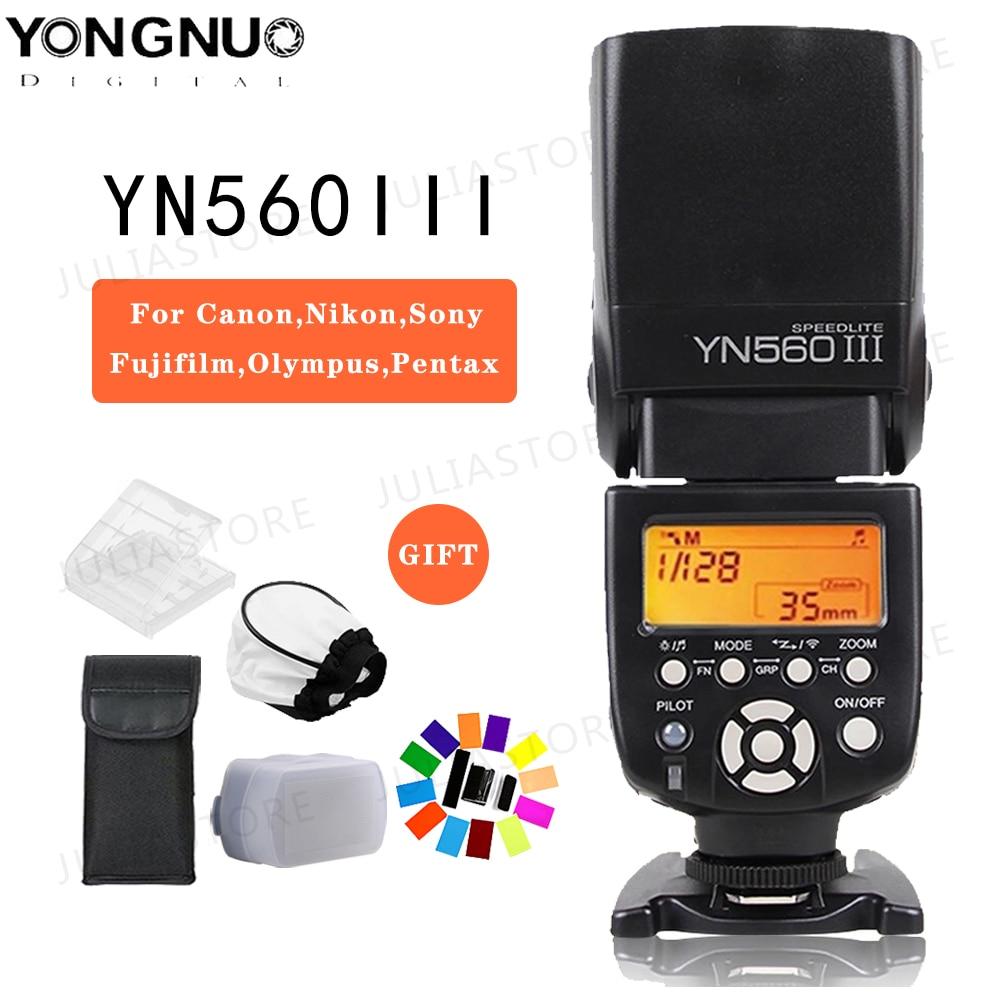 YONGNUO YN560III YN560-III YN560 III Wireless Flash Speedlite Speedlight For Canon Nikon Olympus Panasonic Pentax CameraYONGNUO YN560III YN560-III YN560 III Wireless Flash Speedlite Speedlight For Canon Nikon Olympus Panasonic Pentax Camera