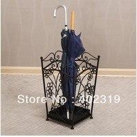 Профессиональная продажа стойка для зонта/стойка  кованое железо  металл  Европейский новый стиль  для хранения зонтов  Бесплатная доставка...