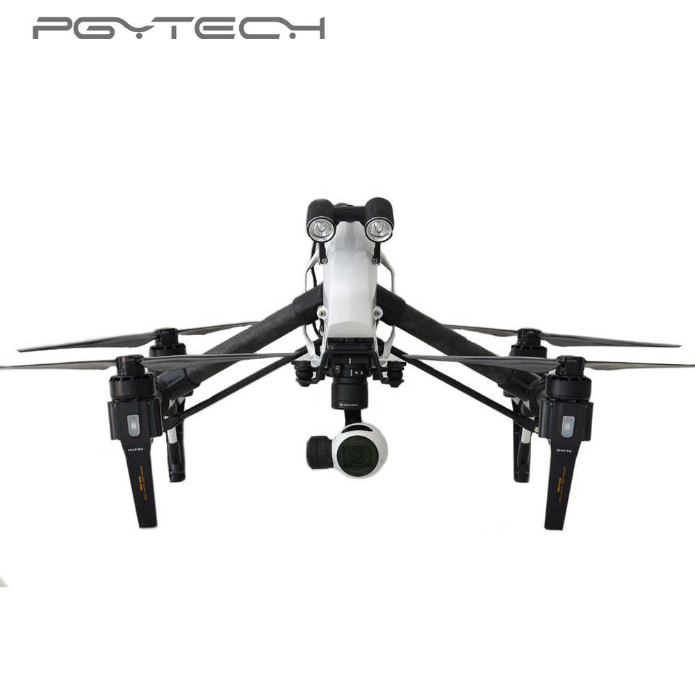PGYTECH headlamp LED light Drone Flash Lights For DJI Inspire 1 Accessories