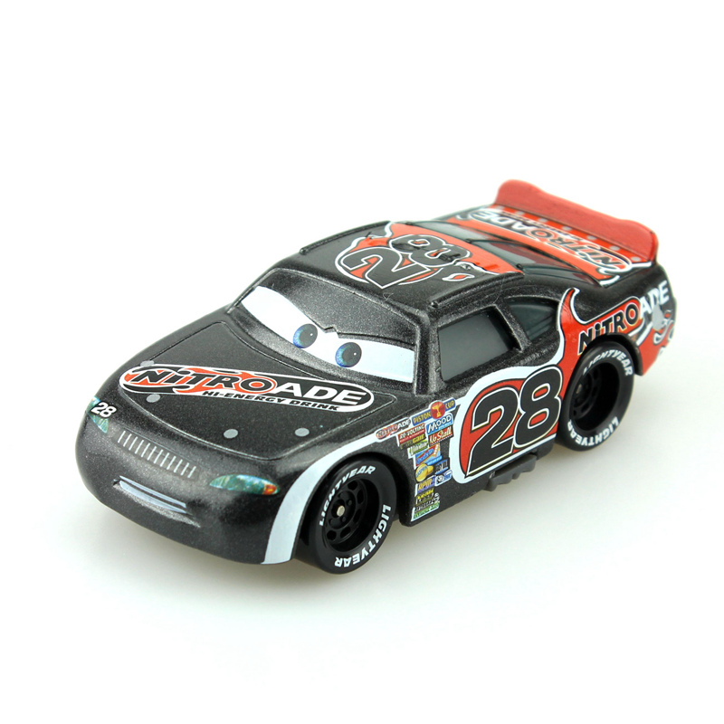 Disney Cartoon Pixar Cars No.28 Racing Cars 1:55 Diecast Brand Metal Alloy Toys Birthday Christmas Gift For Kids Cars Toys