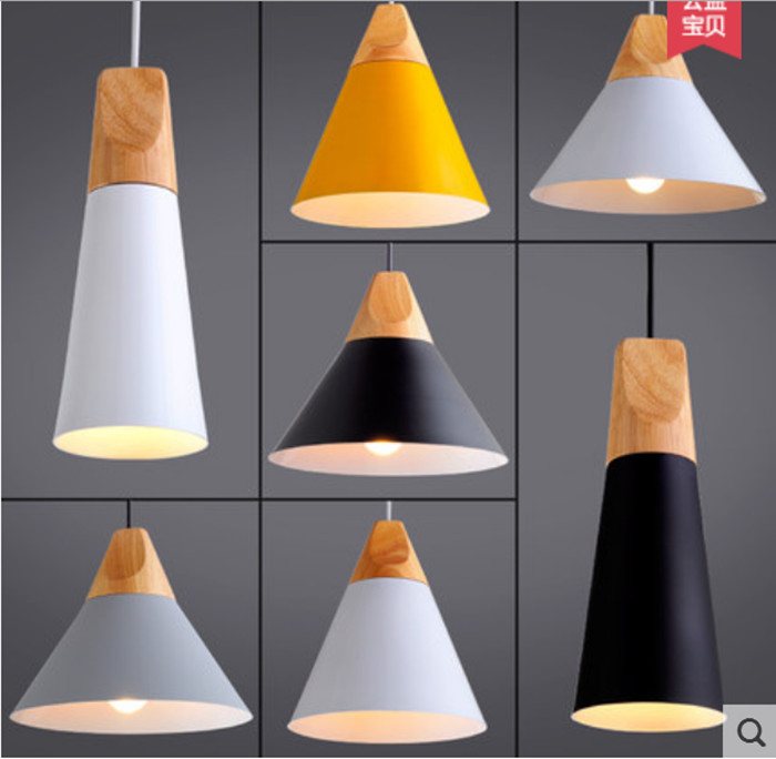 все цены на Nordic Pendant Lamp Cafe Restaurant Pendant Lights Creative Personality Simple Single-head Pendant Lamps