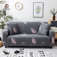 Parkshin Fashion Flower Slipcovers Sofa Cover All inclusive Sectional Elastic Full Couch Cover Sofa Towel 1/2/3/4 Seater