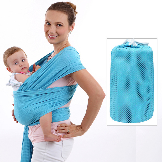 New Super Breathable 9 Colors Bbay Warp For Wummer 0-36 Months Bbay Carriers Spandex Quality Stretch Fabric Kids Hipseat Sling