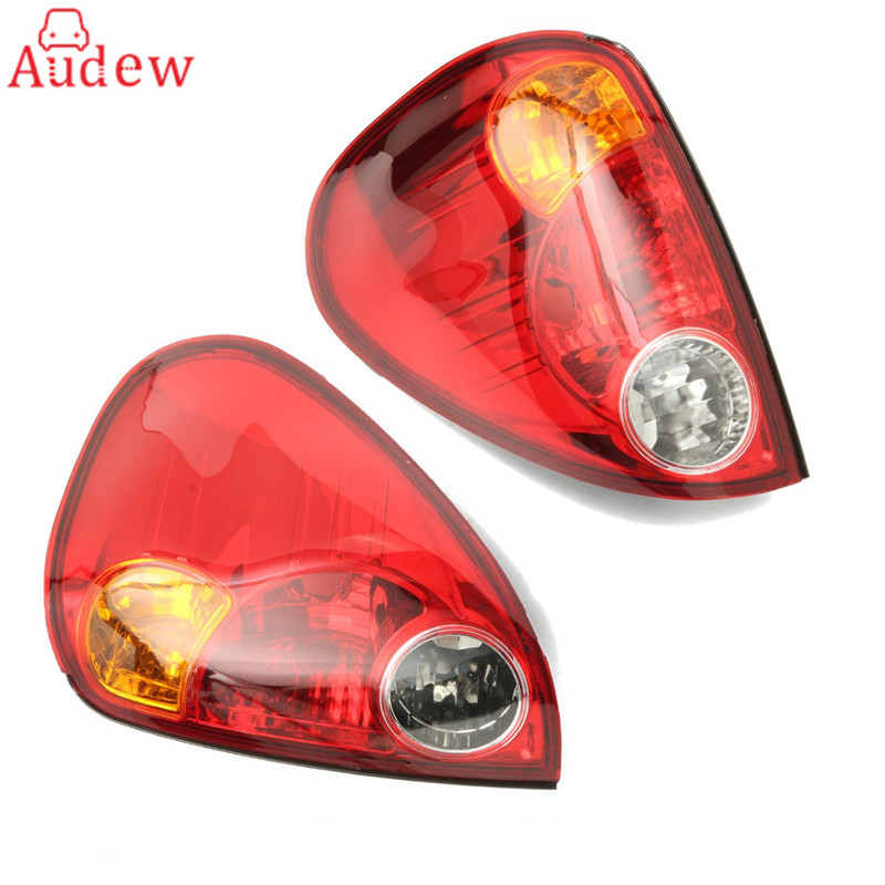 1 pair Warning Light Rear tail Light lamp lens Left and Right for Mitsubishi L200 pickup 2006