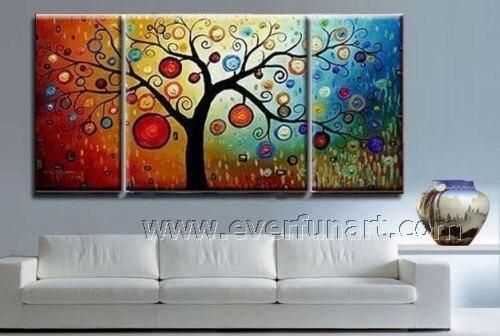 Framed ! Free Shipping ! Cheap modern wall art handpainted home ...