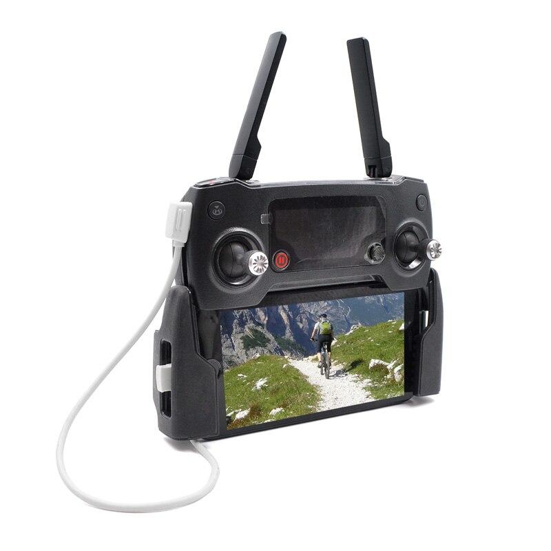 Iphone DJI Mini Mavic 2//Zoom//Air 10cm Tilt90° Cable OTG Micro USB/> IOS Lightning