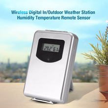 LCD Wireless Weather Station Digital Indoor Outdoor Thermometer Hygrometer Temperature Humidity Meter Remote Sensor