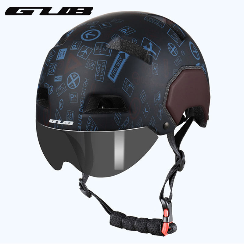 GUB V3 City Urban Bike Helmet With Magnetic Lens Road MTB ...