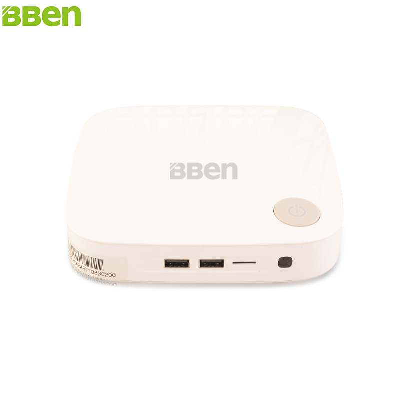 BBEN MN19 Mini PC Windows 10 Intel i5 Quad Core RAM 2GB HDD 500G HDMI WiFi BT4.0 VGA Mini TV Box Mini Computer PC Stick PC