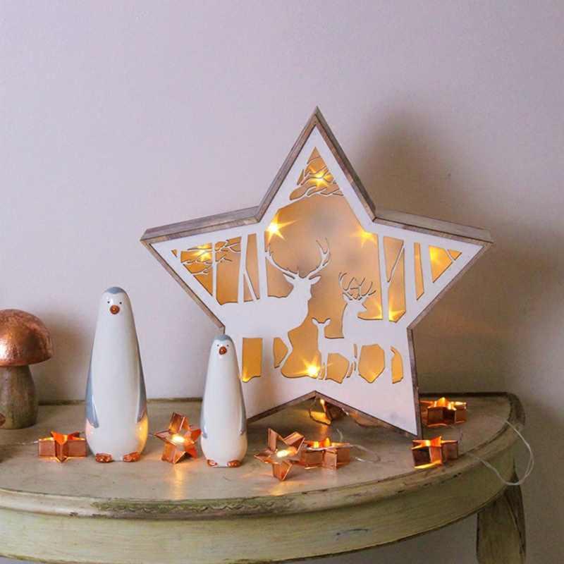 2018 estilo Nórdico luz rosa de ouro corda lanterna corda Home/festival/casamento/decoração do partido luzes de decoração de Ferro