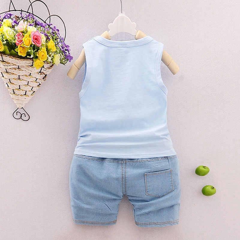 ... Bebé ropa de abrigo ropa deportiva Sets moda verano bebé recién nacido  Niños traje infantil niños ... 04ece9b694e