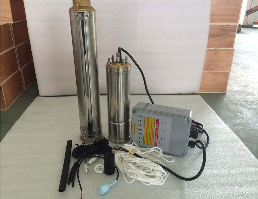 free shipping max.power 400w Submersible Borehole Centrifugal Pump su pompasi with MPPT controller 4SPC5.5/38-D36/400 free shipping 10pcs at26df321 su 26df321 4mb sop8