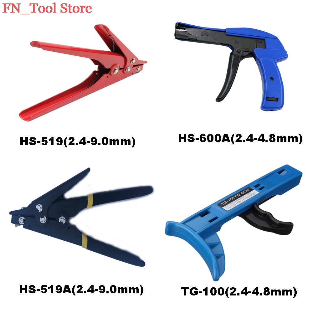 цена на HS-519 HS-519A HS-600A TG-100 mount and a cutting tool and wire especially for cable ties Gun For Nylon Cable Tie