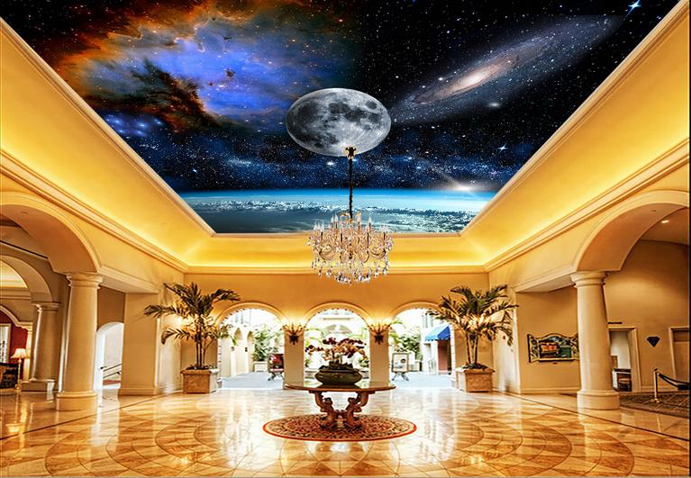 Popular ceiling planets buy cheap ceiling planets lots for 3d ceiling paper