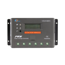 1pc x 20A 12V 24V 48V ViewStar VS2048BN EP PWM Solar system Kit Controller with LCD