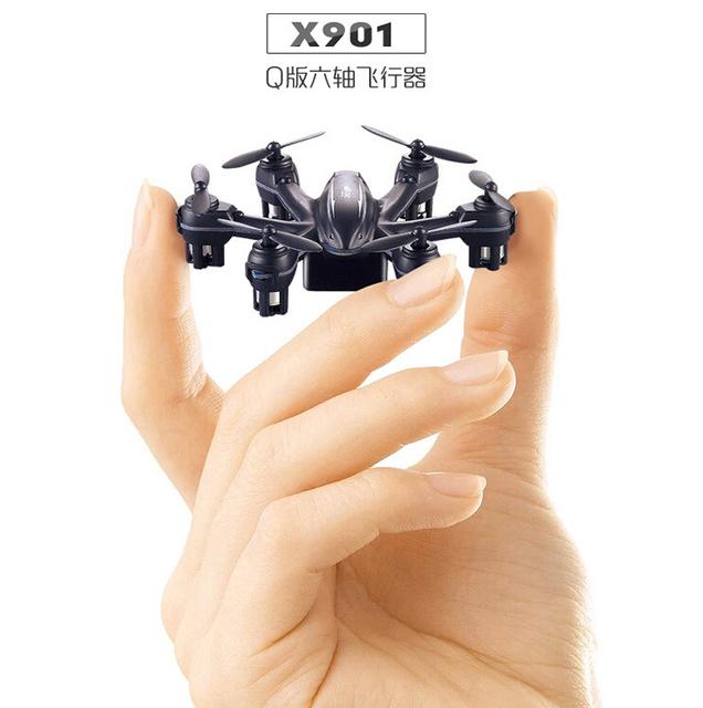 X901 MJX RC Quadcopter 2.4G 6-Axis Nano Helicóptero de Control Remoto RC Mini Drone Quacopter Drones Actualización Negro Blanco