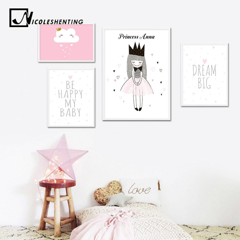 Placas y señales Casa, jardín y bricolaje Dormir Unicornio Personalizado Nombre Childs Dormitorio Puerta Firmar Placa