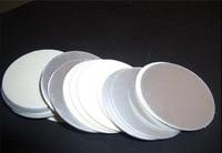 Hot Sale 26.5mm plactic For induction sealing laminated aluminum foil lid liners 10000pcs sealers foil