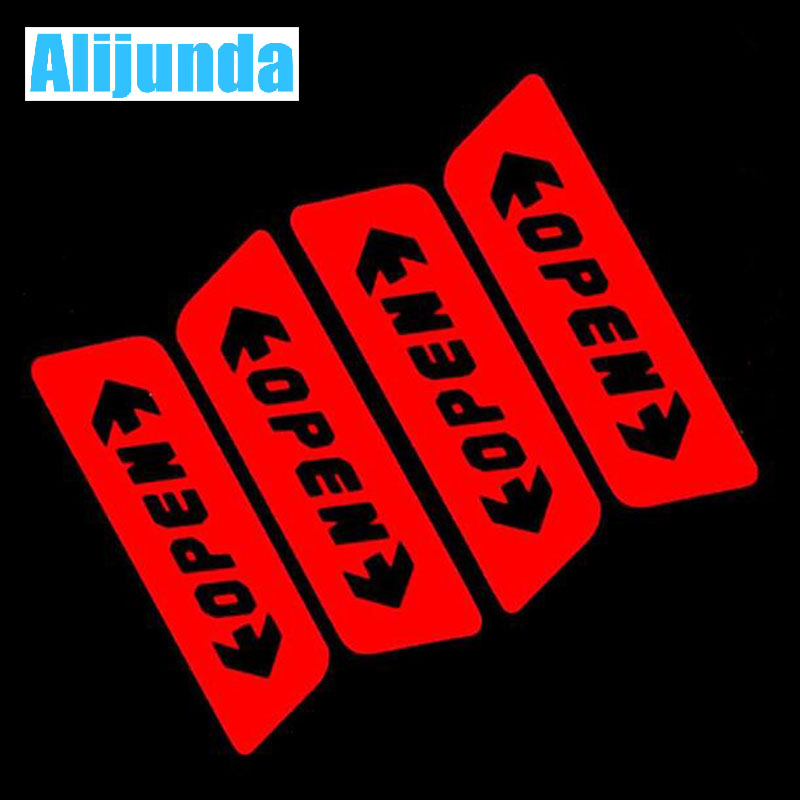 Automobiles & Motorcycles Exterior Accessories Hospitable Alijunda Car Door Open Warning Stickers For Chevrolet Cruze Trax Aveo Lova Sail Epica Captiva Malibu Volt Camaro Cobalt Orlando To Enjoy High Reputation At Home And Abroad
