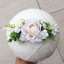 Весенний цветок Цветочная повязка на голову