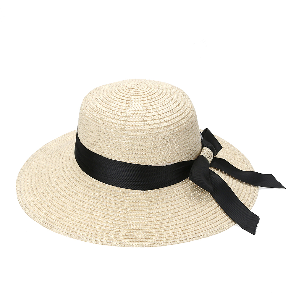Newest Straw Female Hat Fashion Summer Hats for Women 2017 Wide Brim Floppy Beach Sun Cap