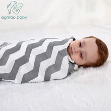 Organic Muslin Swaddle Blankets Softest Blanket Unisex Baby Receiving for Boys Girls Large 47 x