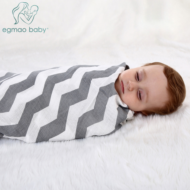 Organic Muslin Swaddle Blankets Softest Baby Blanket Unisex Baby Swaddle  Receiving Blankets for Boys Girls Large 47
