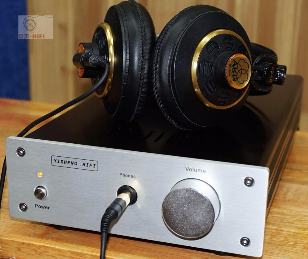 2019 Latest Nobsound Single ended Class A Amplifier Ref Pass Zen Push 32 300 ohm Headset 3W Power amp