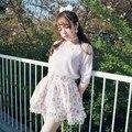 Принцесса сладкий лолита юбка BOBON21 Каваи вырос Pegasus фея Департамент юбка Печатные B1355