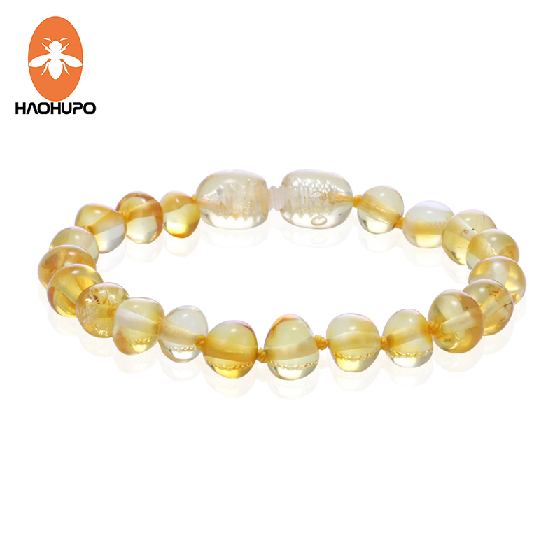 HAOHUPO Handmade Amber Bracelets Baltic Amber Original Jewelry Adults Kids Mom Baby Gift Bracelets Bojioux 50 Designs Factory