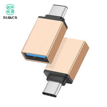 SIANCS USB 3.0 סוג C OTG כבל מתאם עבור Huawei Xiaomi 5 4C Macbook נקסוס 6p סוג-C USB-C OTG ממיר עבור כל סוג-c טלפון(China)