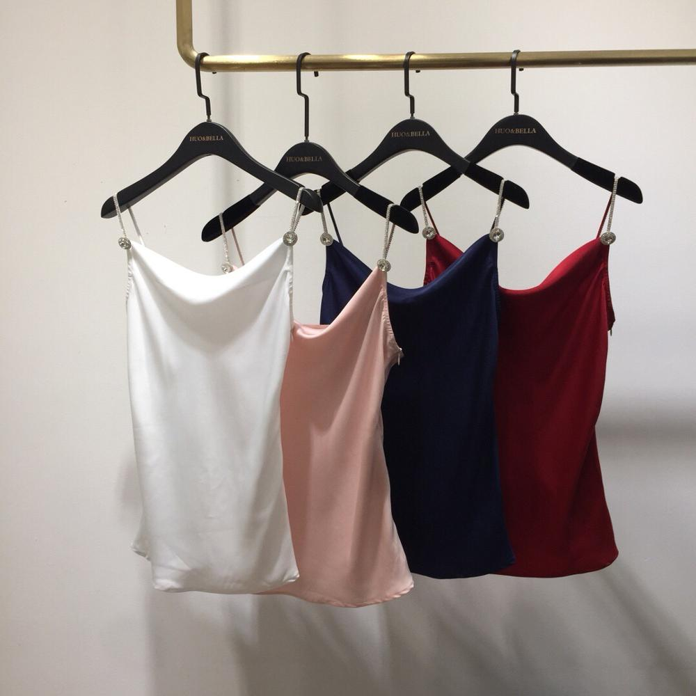 sexy new women diamonds chains camis tops 4 color ddxgz2