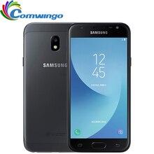 """Ursprüngliches Entriegeltes Samsung Galaxy J3 2017 J3300 3G 32G 4G LTE 5,0 """"13MP NFC Google play handy Snapdragon Fingerabdruck ID"""