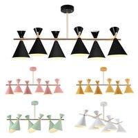 Hiện đại LED chóng mặt mặt dây chuyền đèn La treo E27 Constance Guisset est un đèn cho Phòng Ăn Nhà Hàng lampe ánh