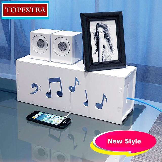 New Style DIY PVC Cable Organizer Box Storage Box Lacquer DIY ...
