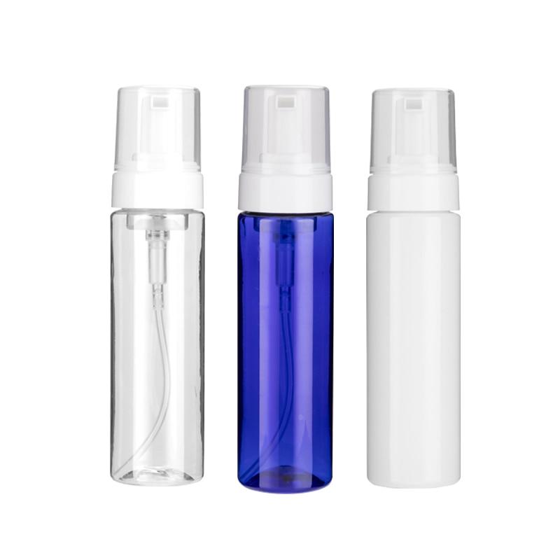 100ml 150ml 200ml empty liquid soap foaming soap pump plastic bottles PET bottle foam pump for