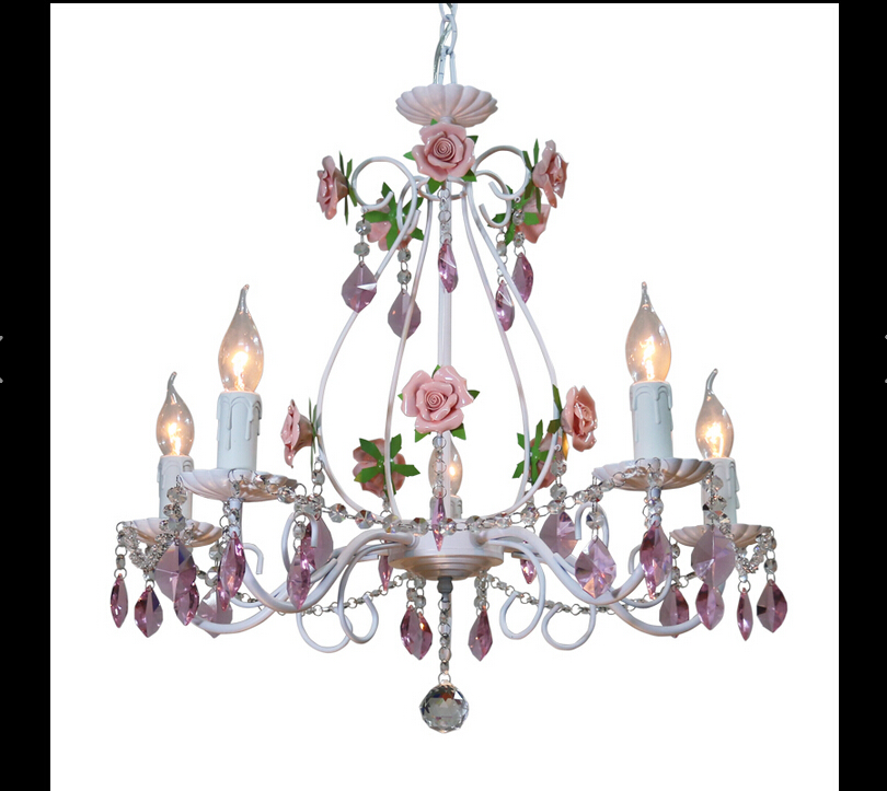 Popular Pink Rose ChandelierBuy Cheap Pink Rose Chandelier lots – Rose Chandelier