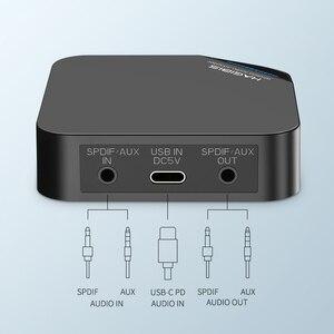 Image 2 - Hagibis transmetteur de récepteur Bluetooth 5.0, amplificateur 2 en 1 sans fil, aptX, Audio HD, 3.5mm, SPDIF/type l, pour la télévision, les écouteurs, la voiture et le PC