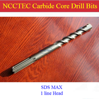 SDS MAX 35 350mm 1 4 Alloy Wall Core Drill Bits NCP35M350 For Bosch Drill