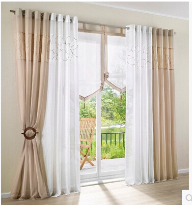 Wonderful Aliexpress.com : Buy 140cmW Europeanism White Brown Grey Color  Tulle/yarn/voile Blind Curtains For Living Room,top Grade Window Sheer  Panels Curtain From ...