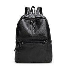 2017 neue Koreanische Mode Pu-leder Frau Rucksack Weiblichen Umhängetasche frauen Rucksack Mädchen Reisetasche Schüler Schulen Tasche Sac