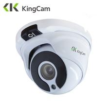 KingCam металлическая Антивандальная ip-камера POE 1080 мм объектив Широкоугольный 2,8 P 960 P 720 P безопасность ONVIF видеонаблюдения 6 мм купольная ip-камера