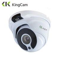 KingCam Metalen vandalismebestendige POE IP Camera 2.8mm Lens Groothoek 1080 P 960 P 720 P Beveiliging ONVIF CCTV Surveillance 6mm Dome IP Cam