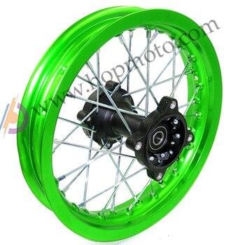 "12/"" inch Rear Back Wheel Rim Tyre Tire PIT Trail Dirt Bike GOLD 15mm 14/"" Front"