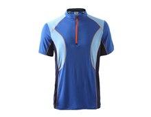 Free Shipping Men newswear Fishing Cycling T Shirt Quick dry Ployester Hiking T-shirt Size S-XXL 3 Colors