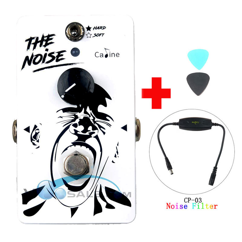 Caline CP-39 Noise Gate Guitar Effect Pedal Aluminum Alloy Guitar Effect Accessaries with Ture Bypass and Caline Noise Filter aroma adr 3 dumbler amp simulator guitar effect pedal mini single pedals with true bypass aluminium alloy guitar accessories