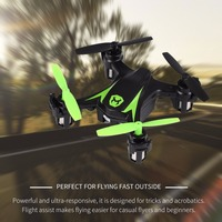 Kids 2 4Ghz 4CH RC Airplane Drone Remote Control Toys One Touch Stunts Battery Plane Quadcopter