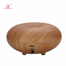 GX.Diffuser Aroma Diffuser Led light Humidifier Diffuseur Huile Essentiel Wood Grain Humidificador Aromatherapy Fogger for home(China)