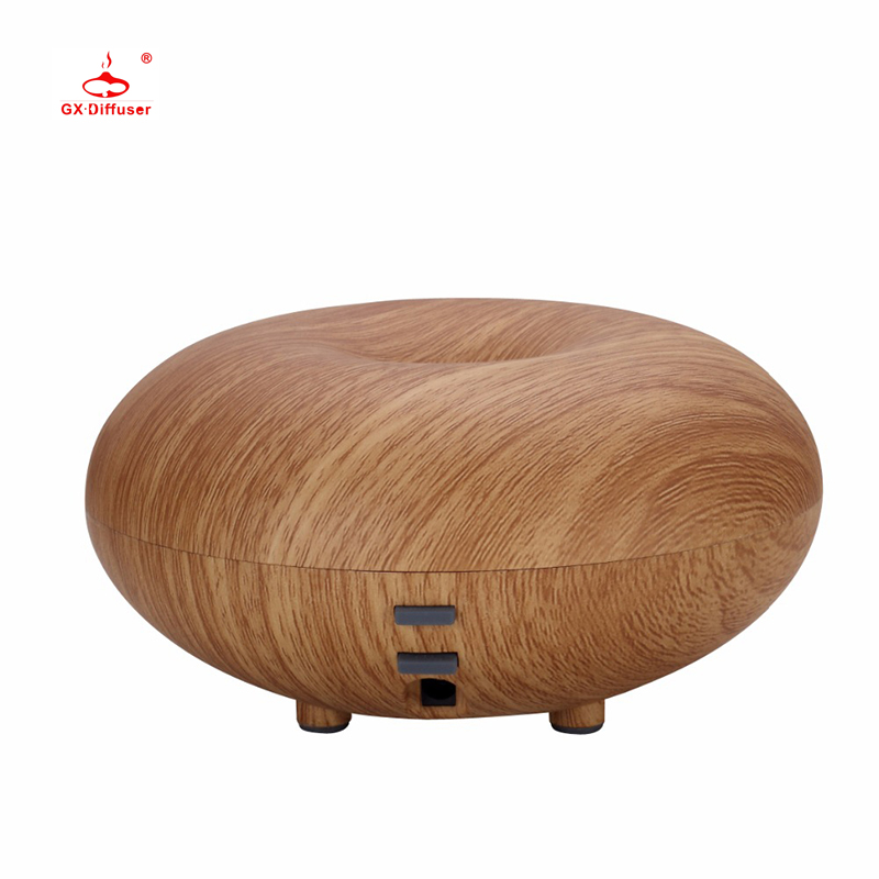 GX.Diffuser ארומה מפזר Led אור אדים Diffuseur Huile Essentiel עץ גרגרים Humidificador Aromatherapy Fogger for home